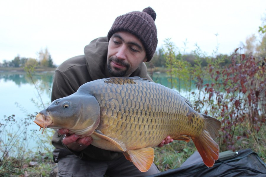 Jon Mann with a Road Lake Common