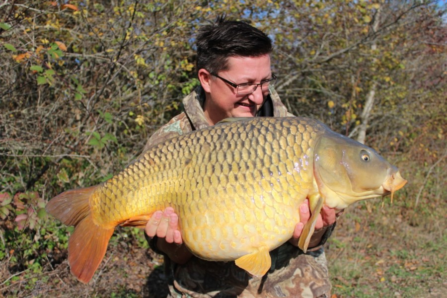 Danny with a chunky common