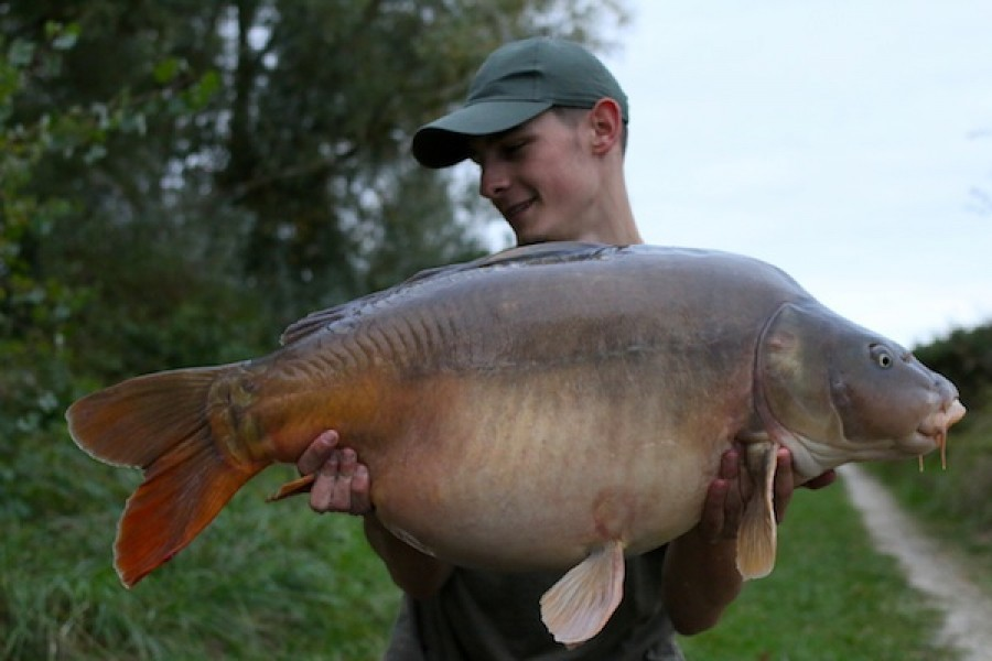 42lb 2oz Turtles Corner October 2016