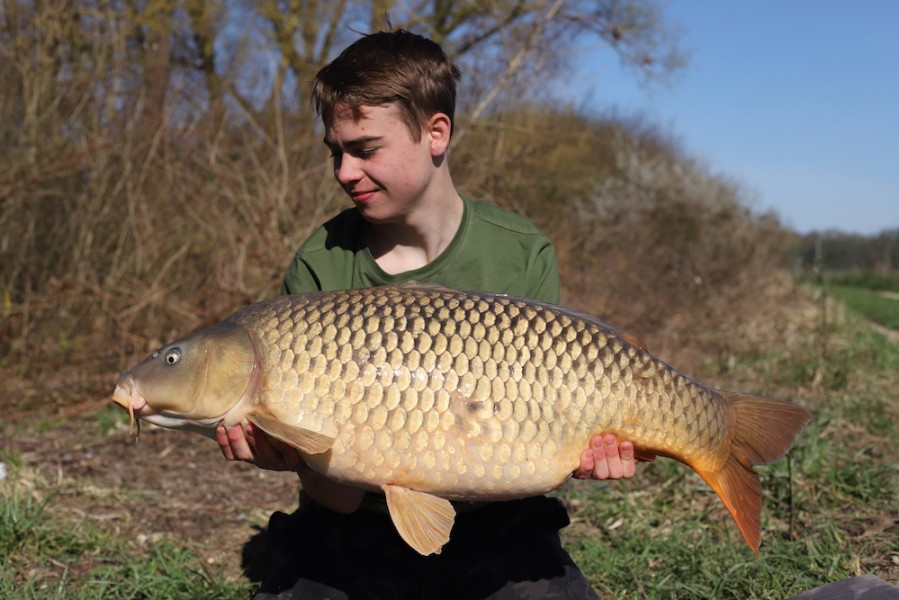 Jono Howard, 34lb 8oz, Turtles Corner, 31.3.18