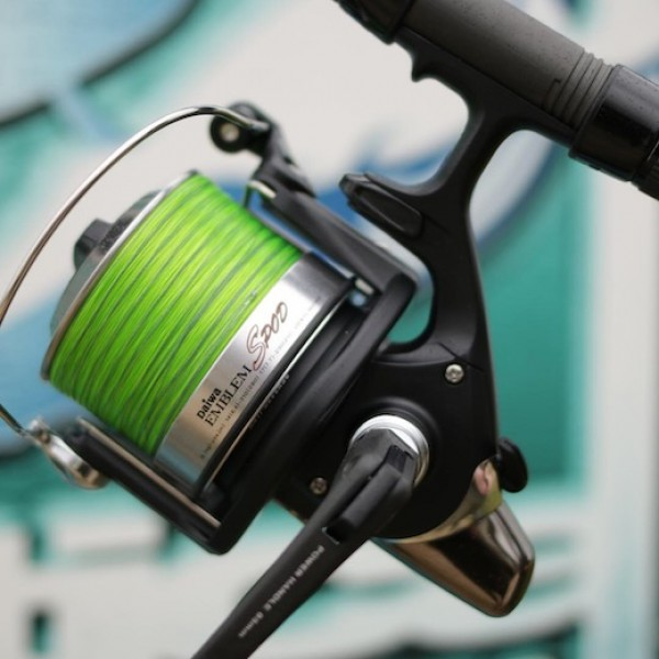 Daiwa Spod reels are true workhorses, that cope brilliantly with the demands of Gigantica.