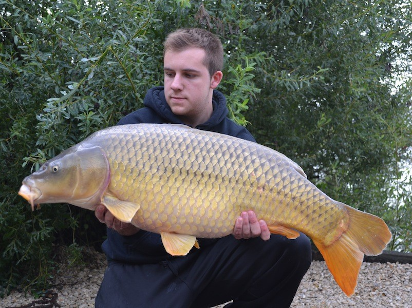 Matt with a chunky common