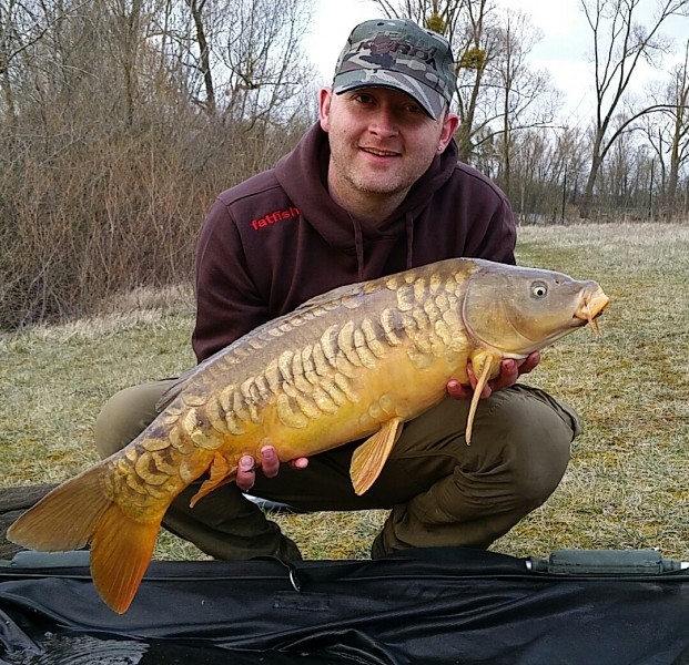 wayne with a 15lbs scaly mirror