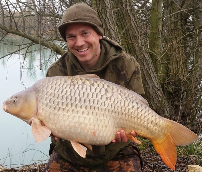 Matt with 'The Carp Academy Common' at 36lbs
