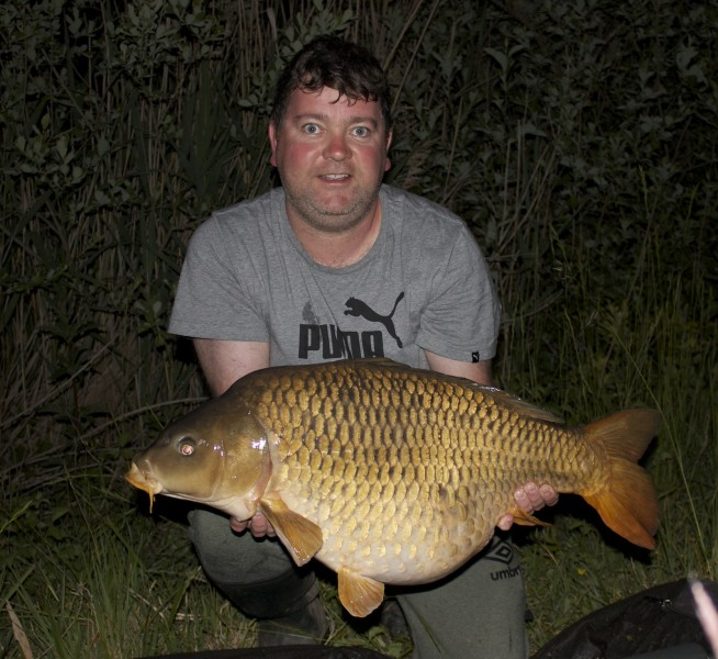 ben with a 30lb 05oz common