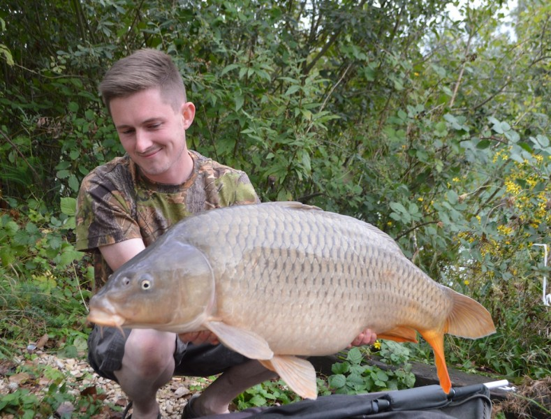 Andy with his 30lbs common