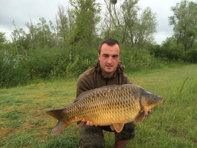 Kev with a 24lb Common