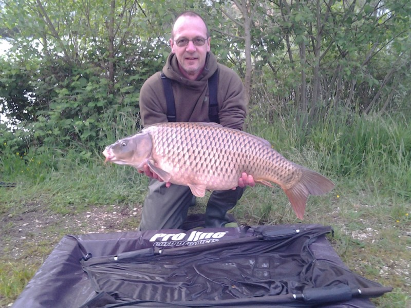 Phil with a 32lb Common from T1