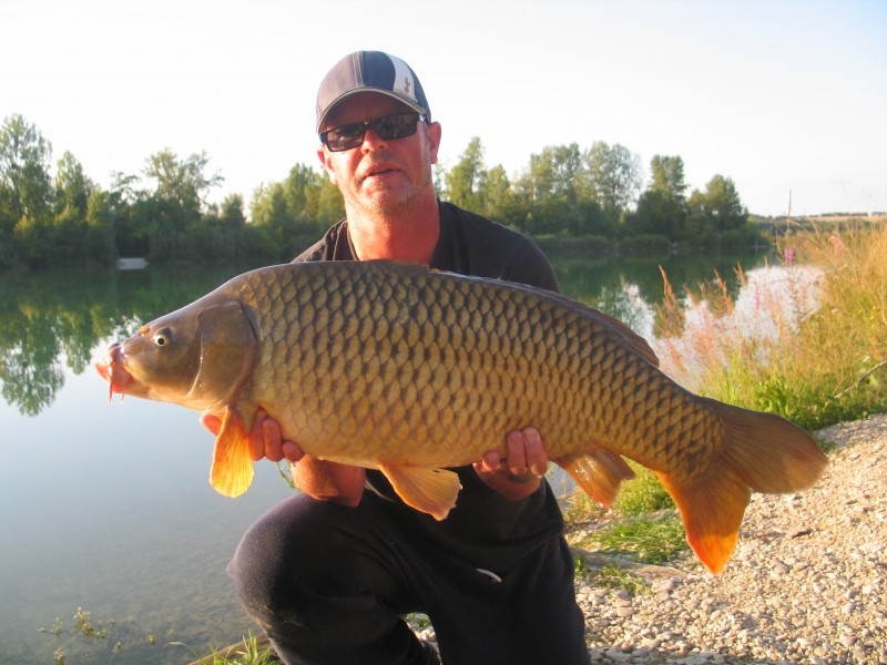 Graham with a 29lbs common