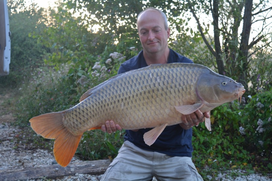 Matthew with a 24lbs common