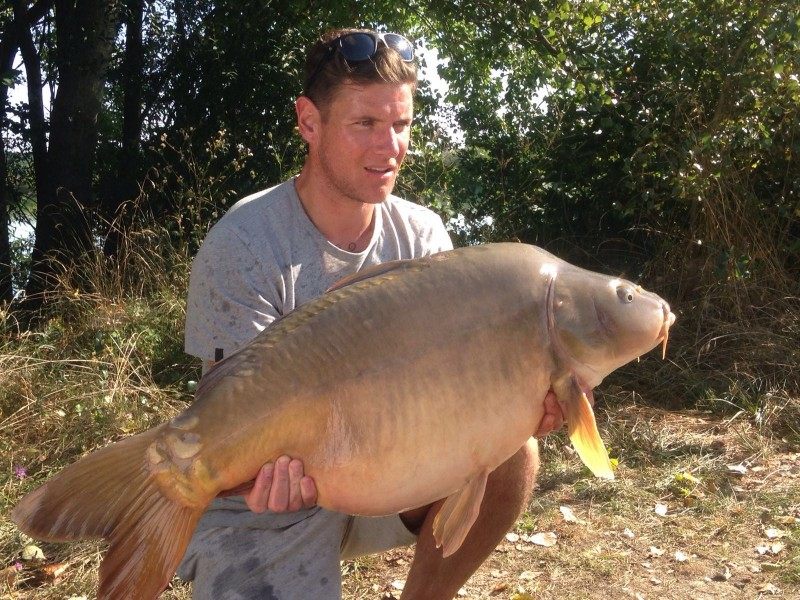 'Cuppers' @ 38lb 14oz for Djukie in TP1