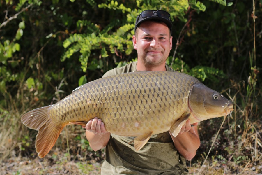Ben with his 35lb 11oz Common