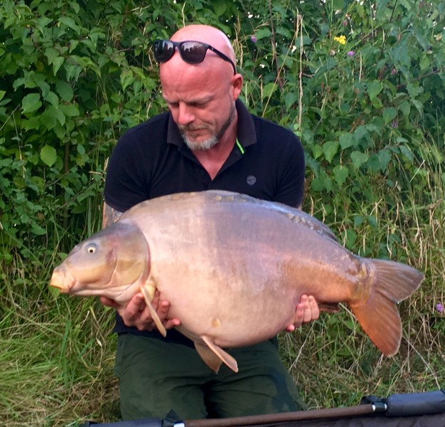 Spencer with Scarface at 42lb from The Poo