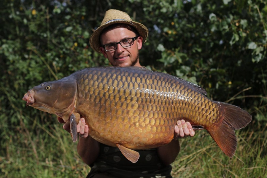 The Unnamed Common @ 44lb 6oz from Decoy