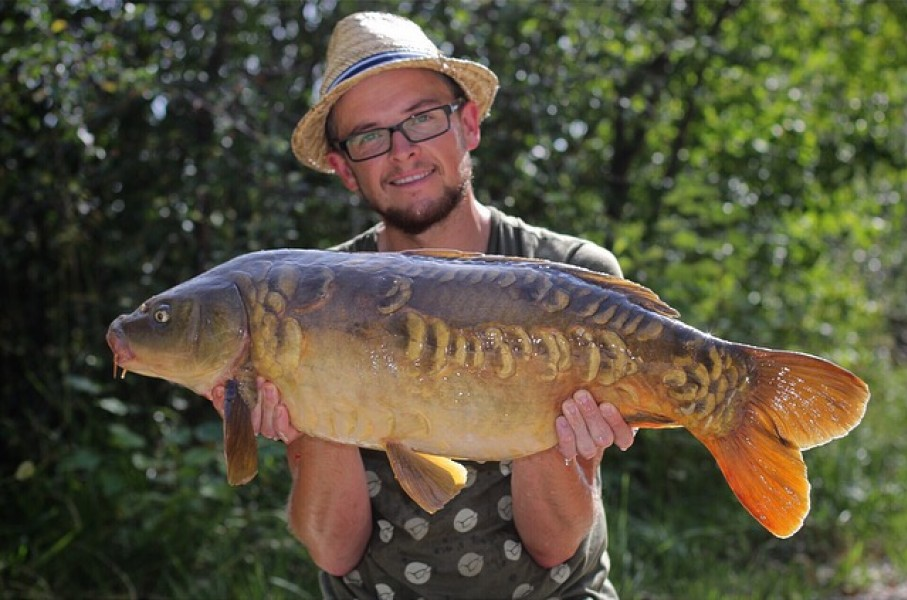 Cracking low 20lb fish for Neil