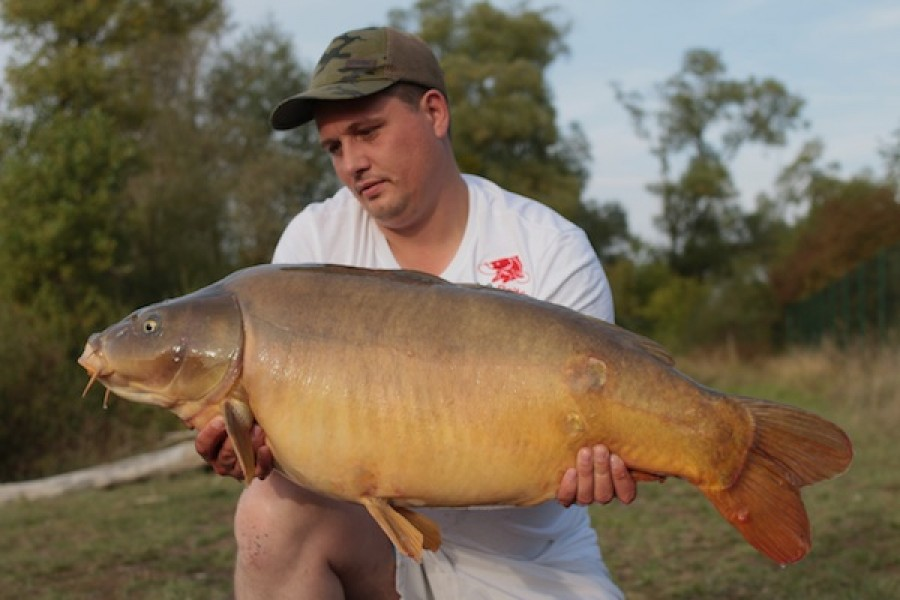36.12lb Backlead Billy's 17.09.16