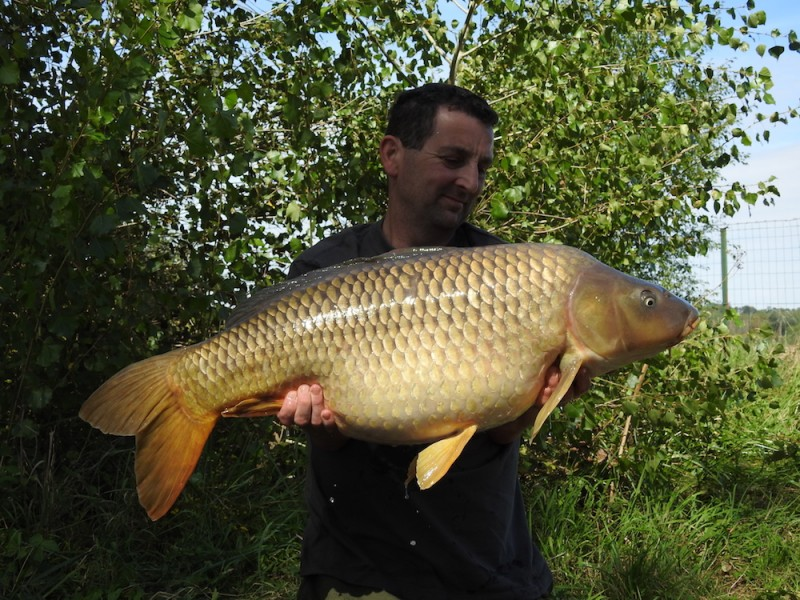 Neil Brock 35lb12oz Turtles Corner 2.9.17