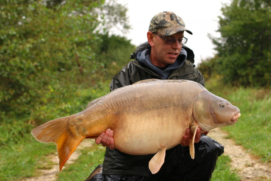 Mark Norman, 45lb, Turtle's Corner, 09.09.17