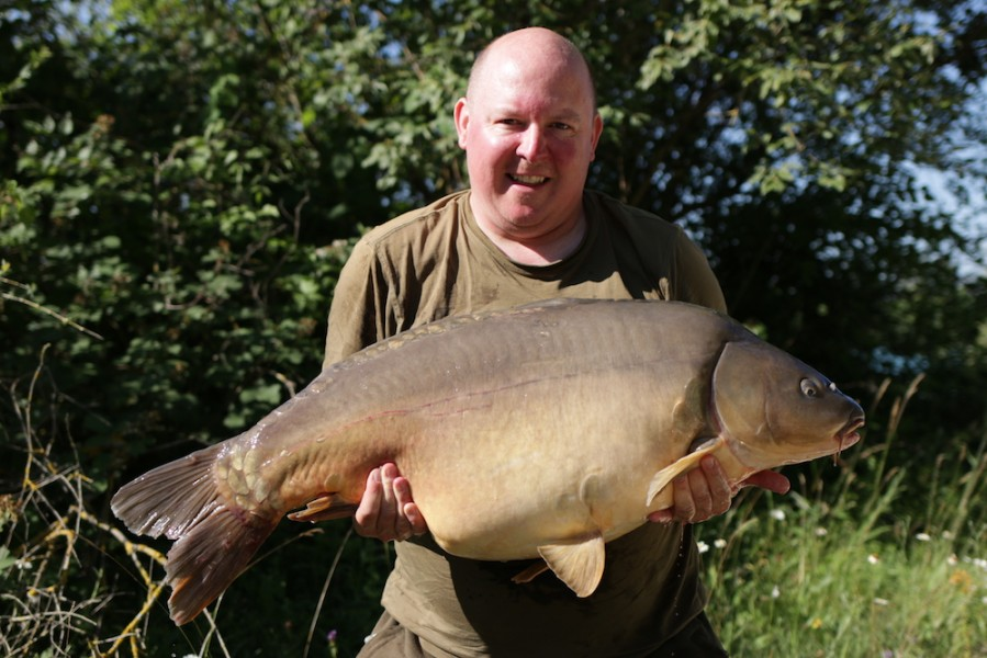 Richard Stansfield, 43lb, Tea Party, 23.06.18