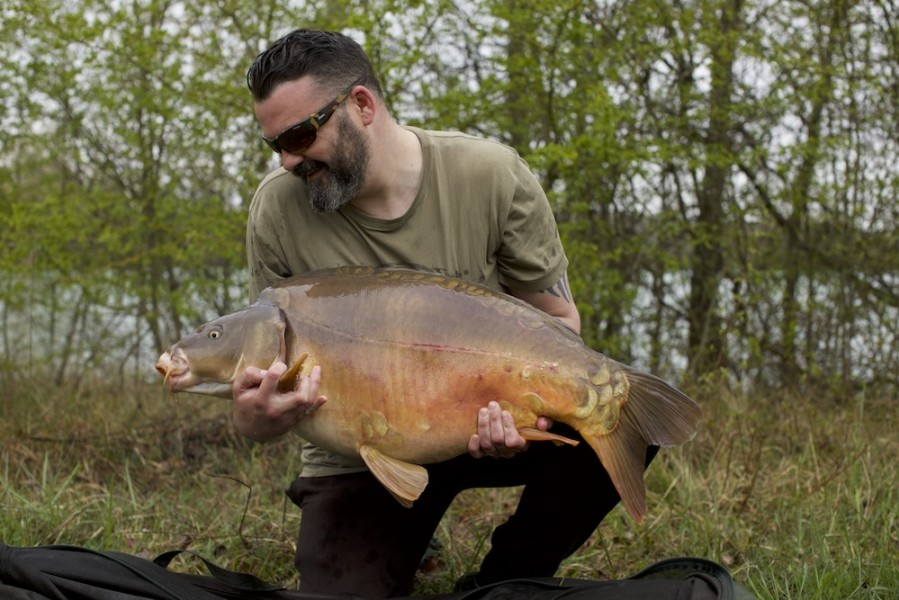 Big Ste with Last Chance at 36lb from The Goo 13.4.2019