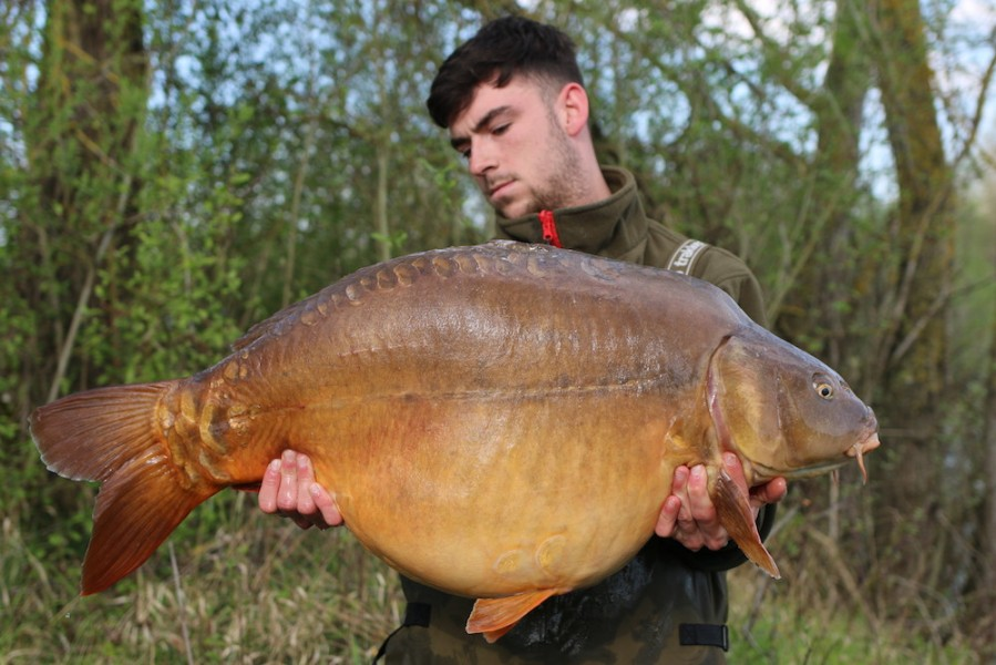 Jack Barrow with Cooky at 45lb from Eastwoods 13.4.2019