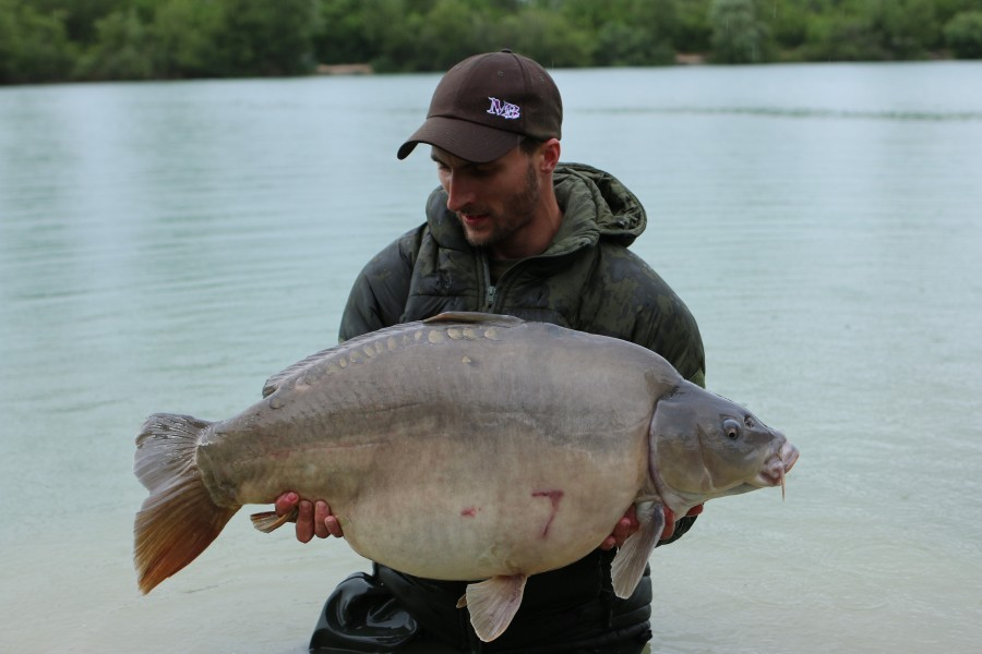 Luke Carrol with Dylan at 44lb 01.06.2019