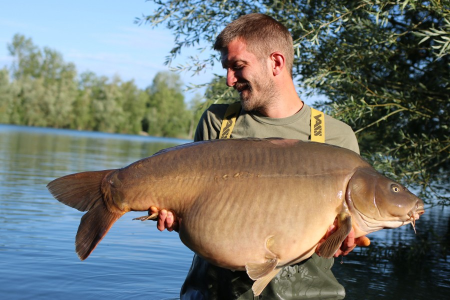 Sebastian Dickinson with Hansen at 58lb 01.06.2019