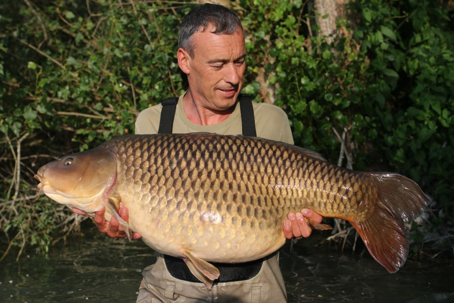Mark Gale with The Korda Social Common at 50lb 01.06.2019