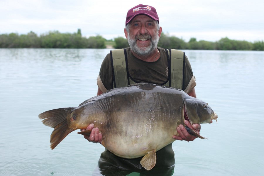 Gary Sims with My Mate at 48lb a new PB 01.06.2019