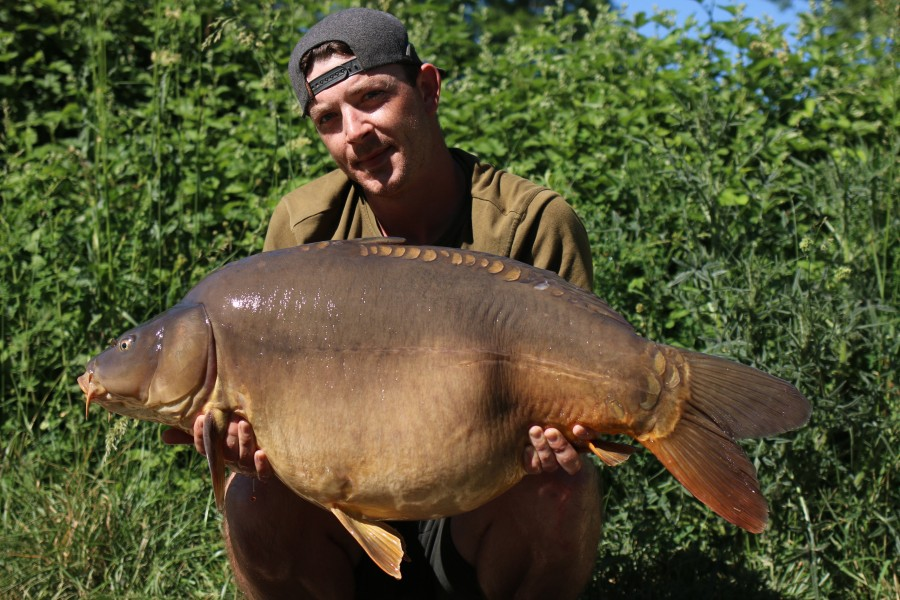 Deacon Olley with Stormin Norman at 44lb 4oz 01.06.2019