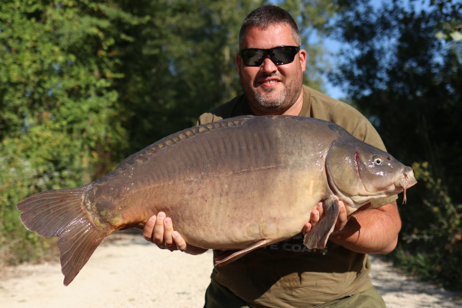 Alan Brown with Little Two Tone at 42lb from T1 24.08.19