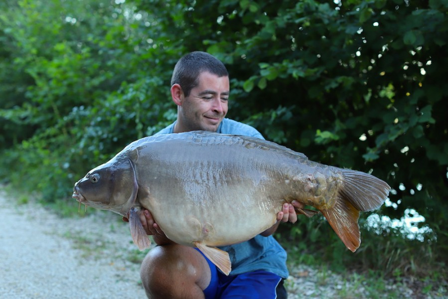 Sean Farrar, 39lb 12oz, Decoy, 27.06.20